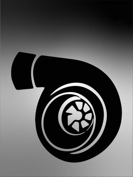 Turbolader Aufkleber