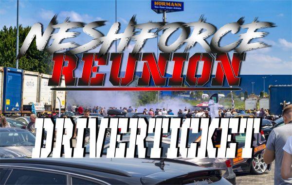 Driverticket Neshforce Reunion - Cars, Beats, Burger