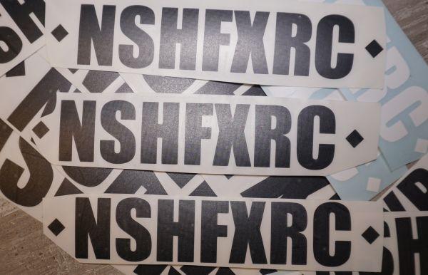 NSHFXRC Schriftzug