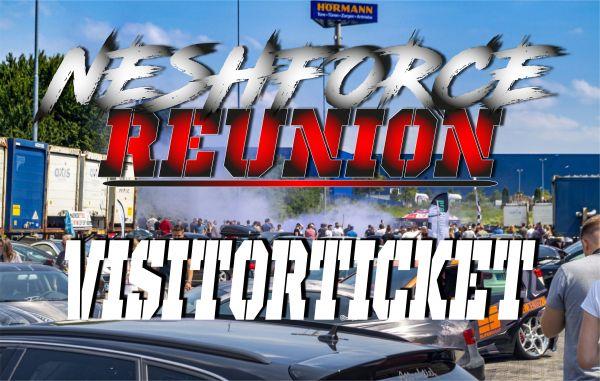 Visitorticket Neshforce Reunion - Cars, Beats, Burger